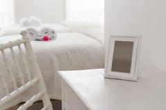 Dresser z fotografii ramą zdjęcia royalty free