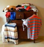 Dresser z rzeczami Fotografia Stock