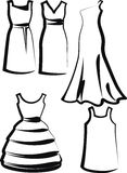 Dresses Royalty Free Stock Photos