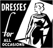 Dresses For All Occasions Royalty Free Stock Images