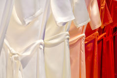 Dresses in a row Stock Photography