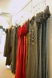 Dresses for sale stock photography