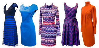 Dresses for women set Stock Photo