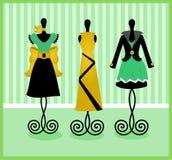 Dressform skärm vektor illustrationer
