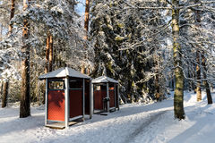 Dressing cabins Royalty Free Stock Photo