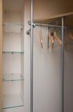 Dressing closet. Modern dressing closet interior view royalty free stock images