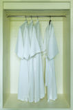 Dressing gown Stock Images