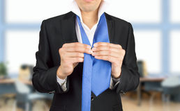 Dressing for the meeting Stock Photo