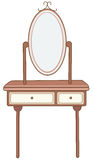 Dressing table Royalty Free Stock Image