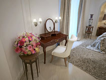 Dressing table classical style Stock Image