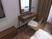 Dressing table contemporary style Stock Photo