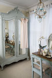 Dressing table in old-fashioned room Royalty Free Stock Image