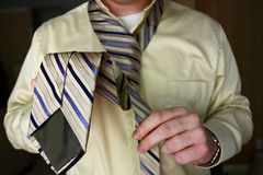 Dressing for Work Stock Image