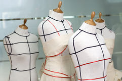 Dressmaker mannequines Royalty Free Stock Image
