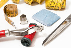 Dressmaker objects Stock Images