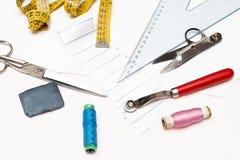 Dressmaker objects Royalty Free Stock Photo