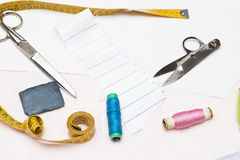 Dressmaker objects Royalty Free Stock Photos