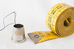 Dressmaker objects Royalty Free Stock Images