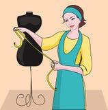 Dressmaker Stock Photo