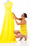 Dressmaker working Royalty Free Stock Photography