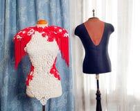 Dressmakers и способ манекена taylor стоковые изображения
