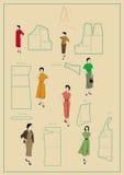 Dressmaking Lizenzfreies Stockfoto