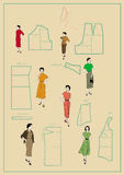 Dressmaking Royalty Free Stock Photo