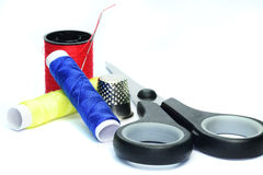 Dressmaking accessories Royalty Free Stock Photo