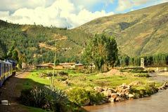 Drev av Cusco Arkivbild