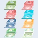 Drev av olika färger Fotografering för Bildbyråer