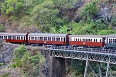 Drev Barron Gorge National Park arkivbilder