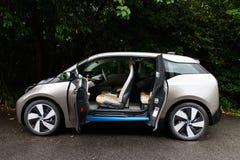 Drev för BMW i3 e-drev 2014 prov Royaltyfri Bild