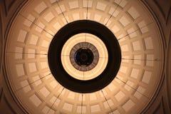 drev för cupolalobbystation Arkivbilder