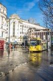 Drev i Manchester City Fotografering för Bildbyråer