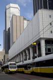 Drev på i stadens centrum Dallas Arkivbild