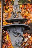 Drev som bogserar - anslutning - transportering av gods arkivfoto