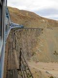 Drev till molnen mest fantastiskt turist- drev i världsnorden av Argentina Salta Royaltyfria Foton