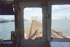 Drev till Osaka Fotografering för Bildbyråer