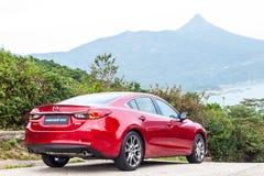 Drevdag 2016 för prov Mazda3 Royaltyfri Foto