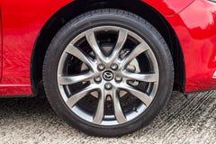 Drevdag 2016 för prov Mazda3 Royaltyfri Bild