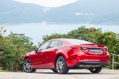 Drevdag 2016 för prov Mazda3 Royaltyfria Foton
