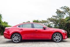 Drevdag 2016 för prov Mazda3 Royaltyfria Bilder