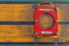 Drevdetaljslut upp Gamla Rusty Locomotive Abstract Background Smutsig industriell metalltextur fotografering för bildbyråer