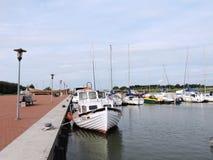 Dreverna-Jachthafen, Litauen Stockbilder