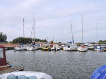 Dreverna Marina, Lithuania Fotografia Royalty Free