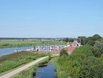 Dreverna Marina, Lithuania Royalty Free Stock Image