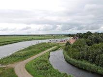 Dreverna Marina, Lithuania Stock Photography