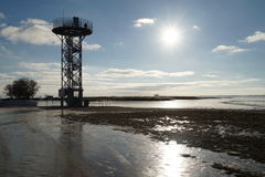 Dreverna. Watch tower stock images