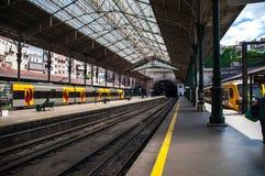 Järnvägen posterar Royaltyfri Fotografi