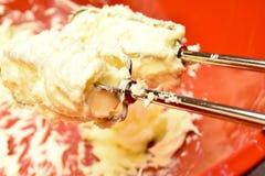 Drevkarlar med smör och socker Royaltyfri Fotografi